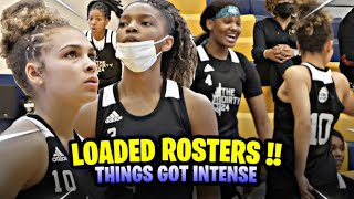 Jada Williams & Jessica Timmons TAKE OVER! Scary All-star Roster AEBL Dirty 24 Girls Game Highlights