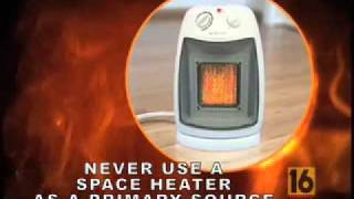 Winter Fire Safety PSA 2008 - WNEP TV 16
