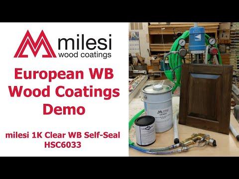 Download Milesi Waterborne Wood Finishing Demo