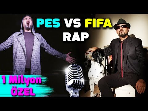 PES VS FIFA RAP (ALEMİN KRALI) | 1 MİLYON ABONE ÖZEL KLİP