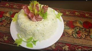 Очень вкусный салат из яиц.