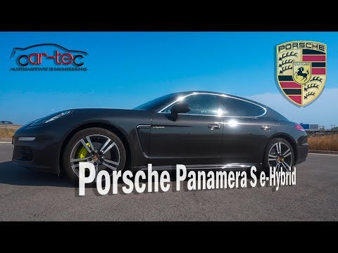 Porsche Panamera S e-Hybrid Stage 1 - Car-tec