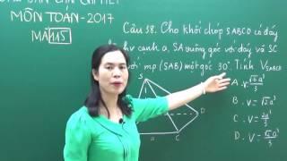 [dodaihoc.com] Cô Lanh chữa đề thi THPT QG 2017 môn Toán