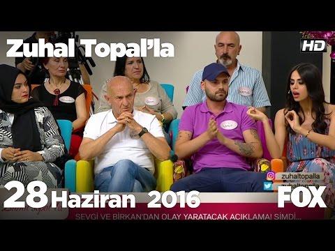 Umut ve Hanife stüdyoyu terk etti! Zuhal Topal'la 28 Haziran 2016