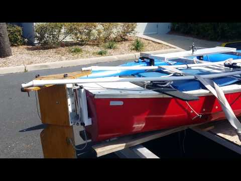 Outrigger sailing canoe for sale