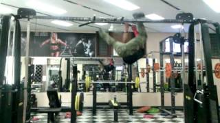 Crazy Ninja Monkey &#39Chiku&#39 in my Gym !!!