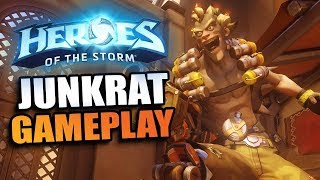 Junkrat - pure fun chaos! // Heroes of the Storm PTR