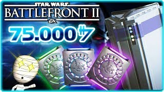 75.000 Credits Loot Crate Opening - Star Wars: Battlefront II (deutsch) - PS4 Livestream