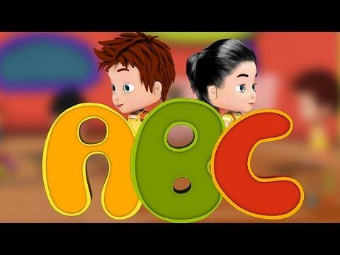 ABC Song Nursery Rhymes from Peppytots tv | ABC Popular Kids Songs | 4k Rhymes