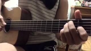 Guitar Note Norah Jones-Those sweet words