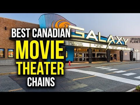 Top 5 Best Canadian Movie Theater Chains