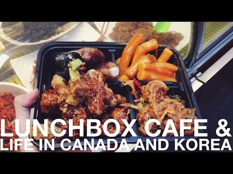 Korean Food: Lunchbox Cafe & Canadian and Korean Life 국제커플 규호와 세라가 소개하는 통인시장 (자막 CC)