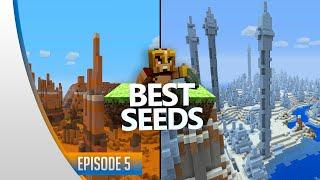 BEST SEEDS #5 - Minecraft Xbox & Ps3 : Mesa Biome, Ice Spikes & Diamants ! (TU31)