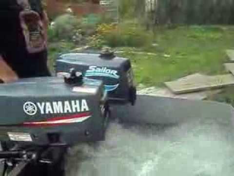 моторы Sailor и Yamaha сравнение