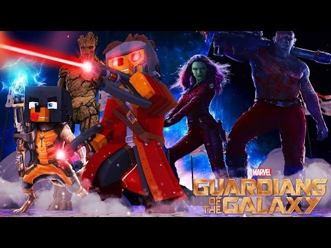Minecraft CHOP CHOP - DONUT & BABY MAX BECOME GUARDIANS OF THE GALAXY - Donut the Dog Minecraft