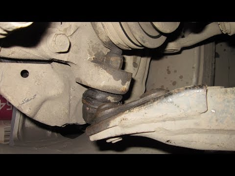 Замена шаровой опоры без съёмника/replace Ball Joint Without Puller