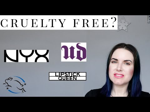 Are Lipstick Queen, Nyx Cosmetics or Urban Decay Cruelty free?
