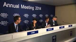 Davos 2014 - A press conference organised by the European Research Council: (Re)search for growth