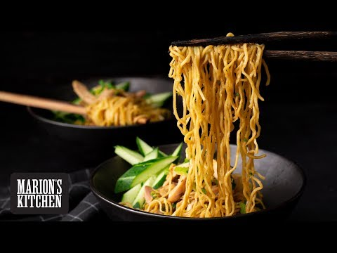 Sichuan Sesame Chicken Noodles - Marion's Kitchen