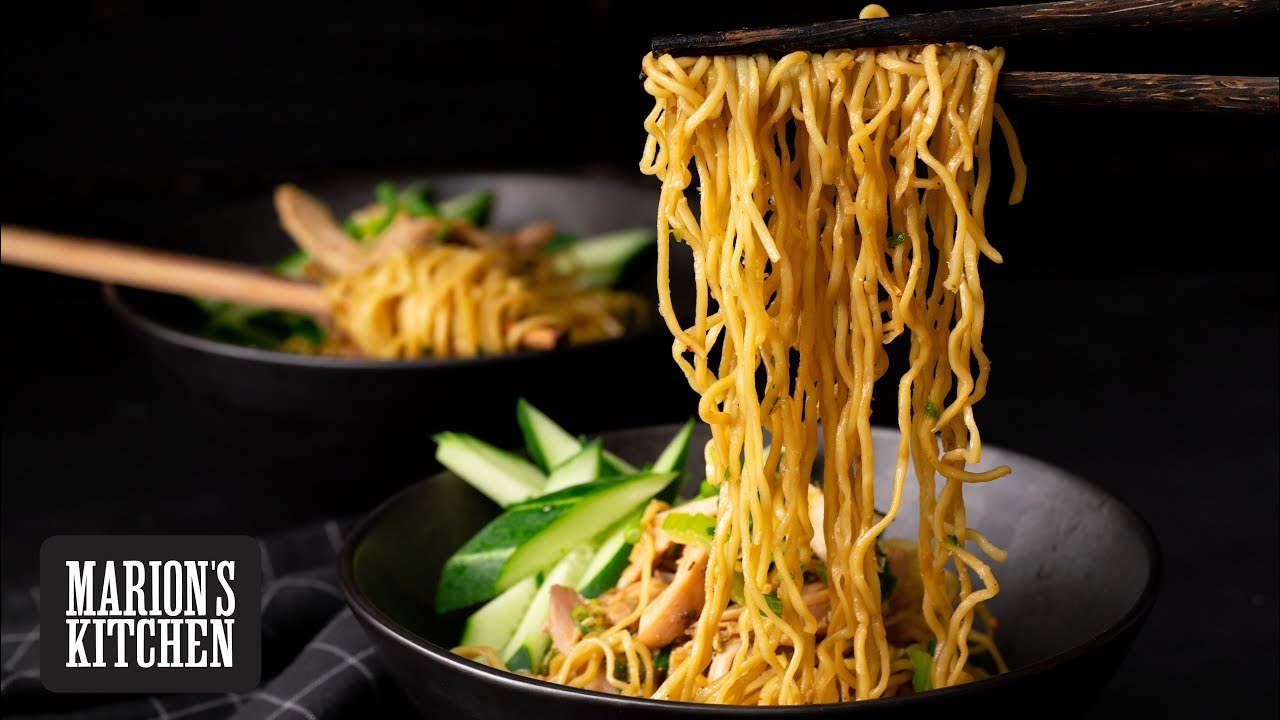 Sichuan Sesame Chicken Noodles Marion S Kitchen Youtube