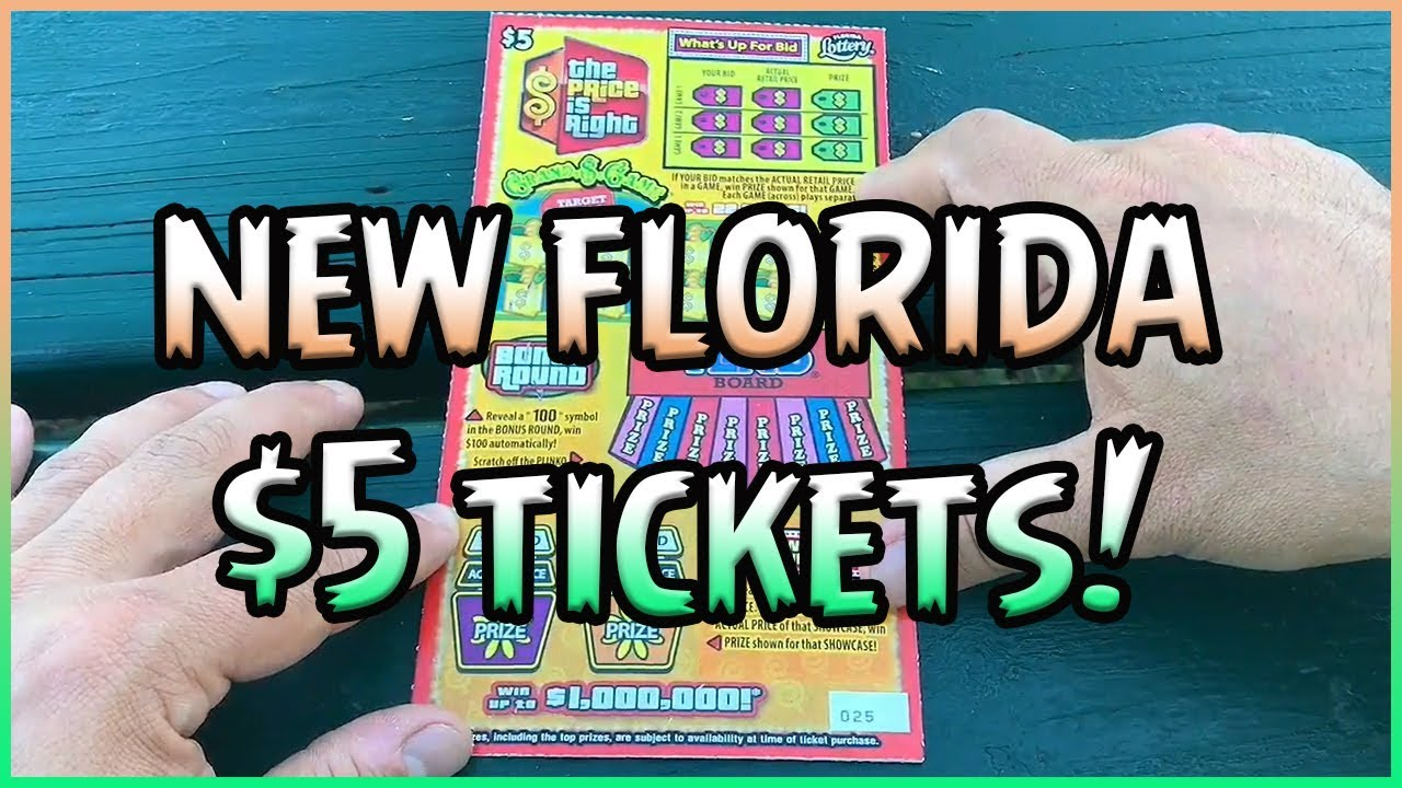 New Florida Tickets 4 5 The Price Is Right Florida Lottery