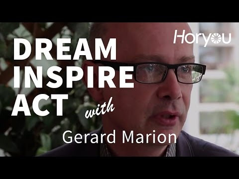 Gerard Marion @ Cannes 2014 - Dream Inspire Act by Horyou
