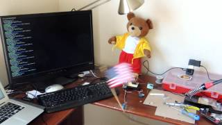 Raspberry Pi waving The Flag of the United States