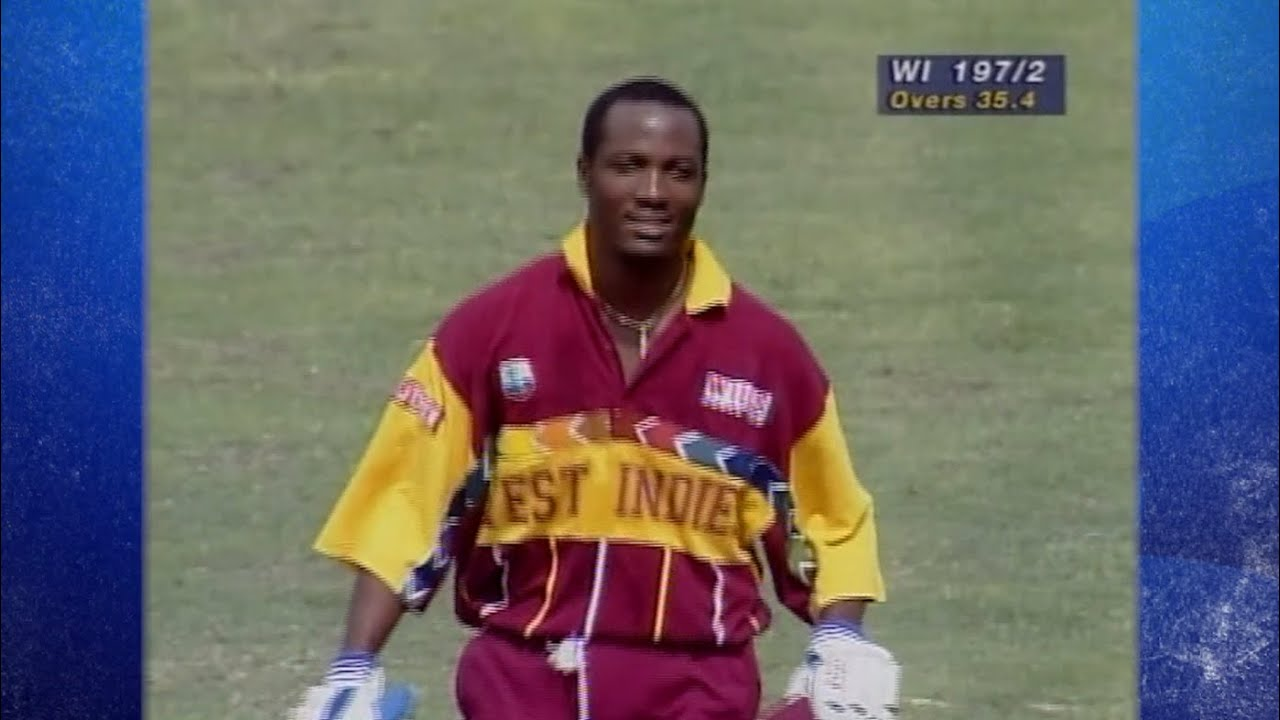 Brian Lara 111 (94) | West Indies v South Africa | World Cup 1996