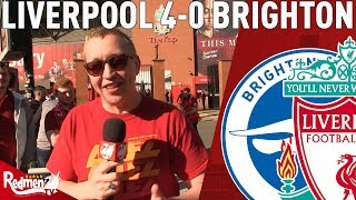 Liverpool & Salah Run Riot! | Liverpool v Brighton 4-0 | Chris' Match Reaction