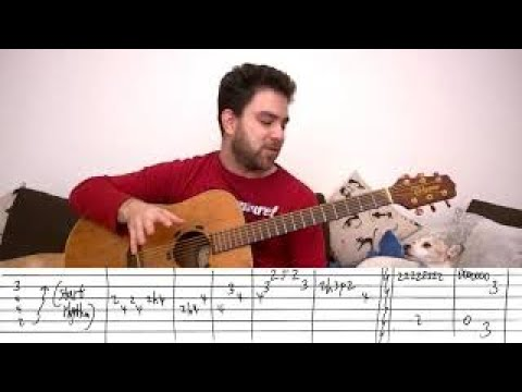 Fingerstyle Guitar Lessons. Tutorial Part 1 / Sultans of Swing