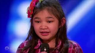 9-letnia Angelica Hale w amerykańskim Mam Talent