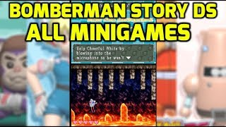Bomberman Story DS - All Minigames