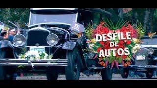 Desfile de autos clásicos y antiguos Medellin 2017