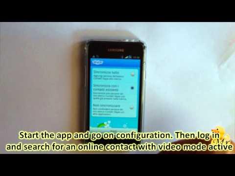 Skype Su Android - Effettuare Video Chiamate