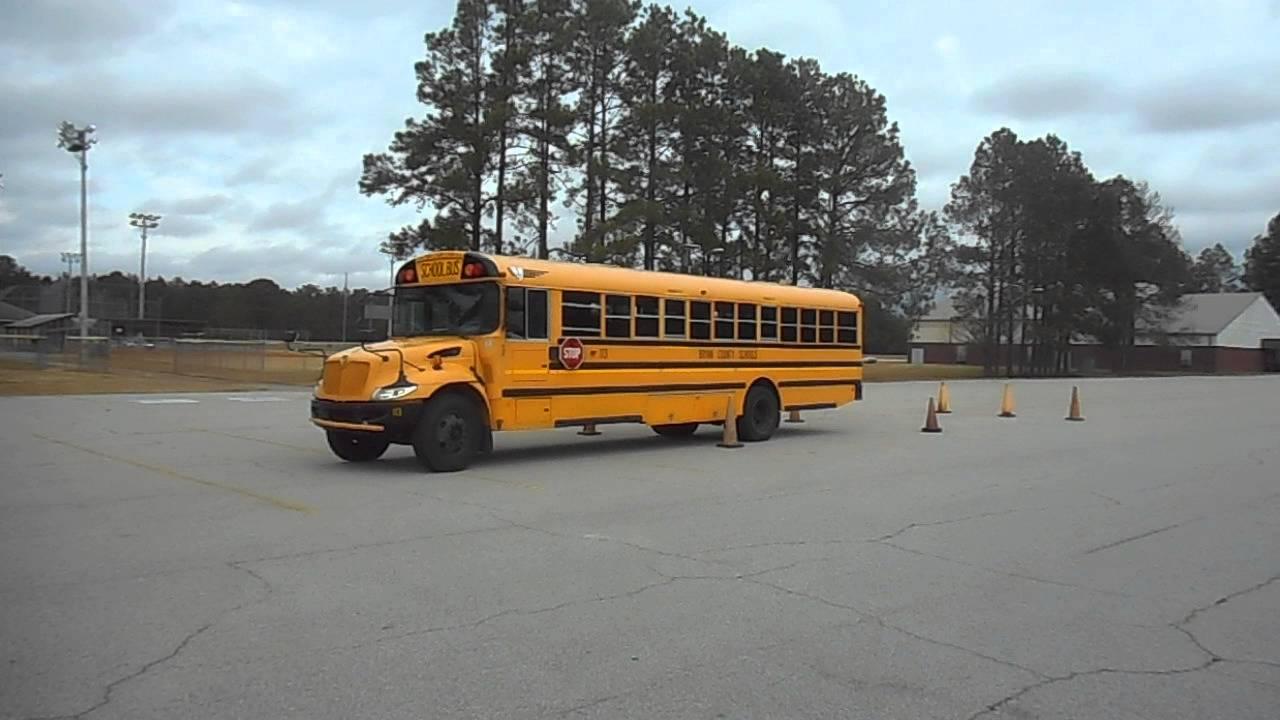 52  Skills  U2013 Alley Docking  U2013 Class B Cdl School Bus