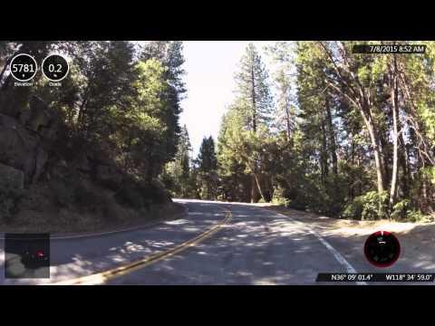 Hwy 190, Springville, CA - Top U.S., CA and Sierras Climb