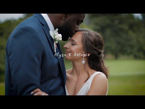 Alyssa & Antonio Wedding Highlight Teaser   Shenandoah Valley Golf Club   Front Royal, VA