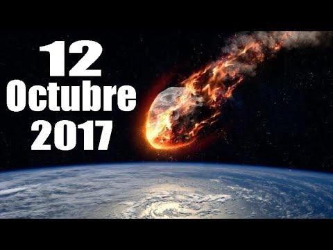ASTEROIDE PODRÍA IMPACTAR LA TIERRA - 12 OCTUBRE 2017