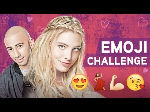 Emoji Challenge with Lele Pons and Yousef Erakat!