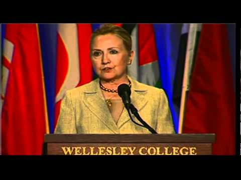 Secretary Clinton Delivers Remarks at Wellesley College