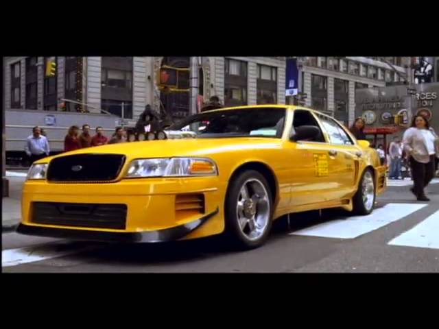 Taxi Movie Trailer 2004 (Jimmy Fallon, Queen Latifah)