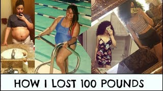 How I Lost 100 Pounds