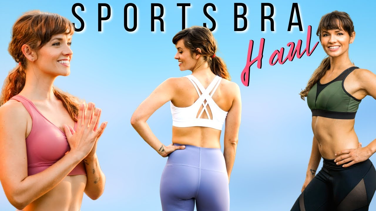 Sports Bra & Leggings Try On Haul! HUGE Black Friday Sale, Supportive Fitness Clothes Review Yvette