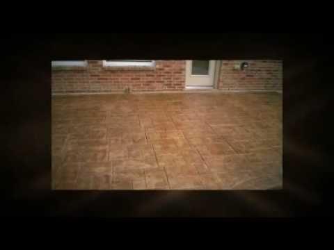 Hobbs & Hobbs Conncrete-Hamilton Ashlar Slate Stamped Concrete Patio-Dallas Fort Worth