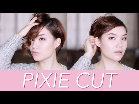 I CHOPPED OFF MY HAIR // my new pixie cut!