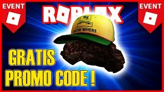 'New' PROMOCODE by ROBLOX 2019 (FREE Cap!) 🌟 Stranger Things Event
