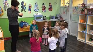 Занятия с логопедом. Частный детский сад
