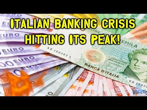 DANGER! Bailins Coming In EU - 114 Italian Banks - Have NP Loans Exceeding Tangible Assets