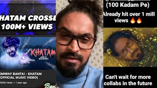 Emiway Bantai 100 Kadam Pe Review | Emiway Bantai Khatam Crossed 100 Million Views !!