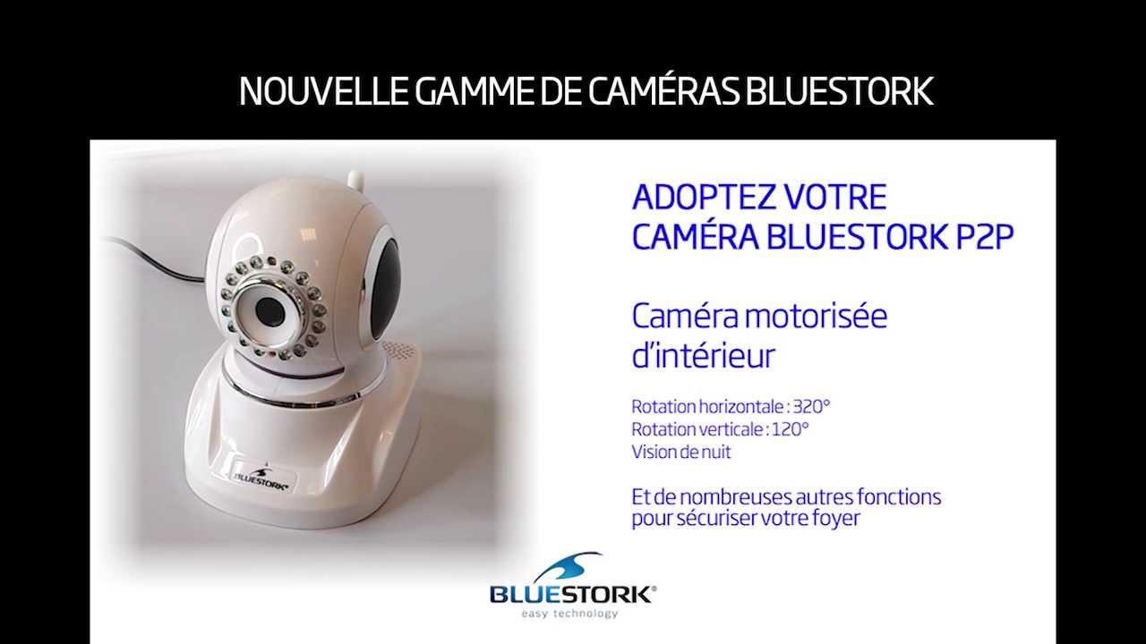 Présentation générale de la caméra Bluestork